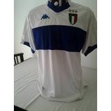 Camisa Kappa Seleção Da Itália De Rugby Branca Jaguar - Camisa ... aa4af30864c52