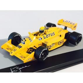 Formula 1 Lotus 99t Senna 1987 1:43 Ixo Acrílico C/danos