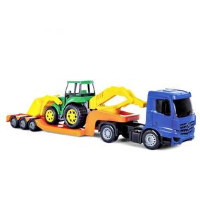 Caminhão Infantil Superfrota Plataforma 57cm - Poliplac