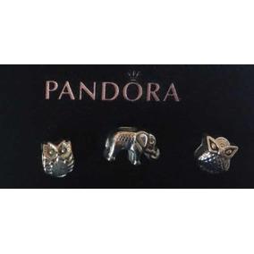 Charms Compatibles Con Pandora, Chapa De Plata Chapa