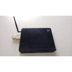 Computador Asus Eee Box202 Intel Atom, 2 Giga Memória