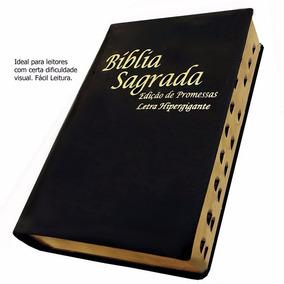 Bíblia Sagrada Capa Luxo Letra Hipergigante + Indice