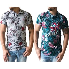 583b329447 Atacado Kit 3 Camisa Polo Manga Longa Slim Fit Toka. 15. 126 vendidos -  Paraíba · Kit 2 Camisa Polo Masculina Floral Algodão Slim Fit