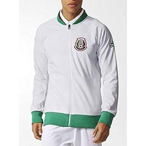 Chamarra Seleccion Mexicana adidas Hombre Blanco A14526 9e92c49282d40