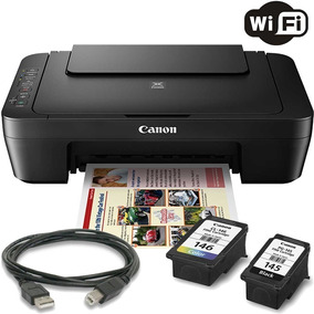 Impressora Multifuncional Canon Mg3010 Wireless Com Cartucho