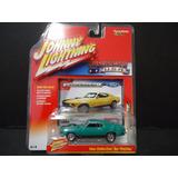 Johnny Lightning 1/64 1970 Ford Mustang Mach 1 Verde