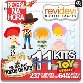 Toy Story Elementos Em Png E Jpg Para Arte Personalizada