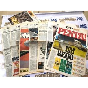 Seleção Brasileira Brasil Penta Campeão 2002 Jornal Original