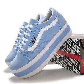 2b2eaf84a0 Tenis Hellbender Azul Masculino Vans Old Skool 36 - Tênis Lona Azul ...