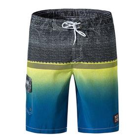 M-3xl Caballeros De Moda Pantalones Cortos De Playa Secos