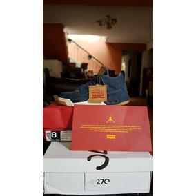 Zapatillas Air Jordan Retro 4 Levis En Stock Talla 40.5
