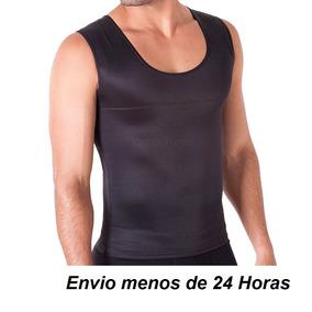 3cf18afd06 Cinta Camiseta Colete Masculina Alta Compressão Redu Shaper