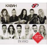 En Vivo - Kabah Y Ov7 - 2 Discos Cd + Dvd - Nuevo