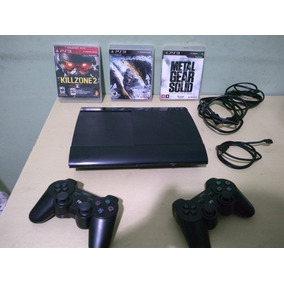 Video Game 2 Controles - Consoles PS3 Slim no Mercado Livre Brasil