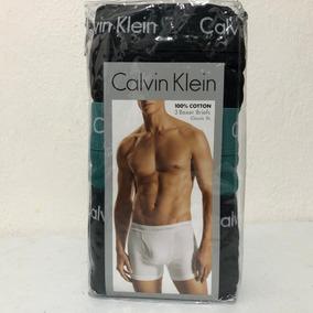 Pack 3 Boxer Calvin Klein 100% Cotton Classic Fit Xl 915
