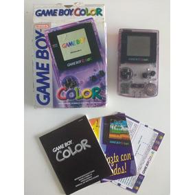 Game Boy Color Roxo - Na Caixa Original