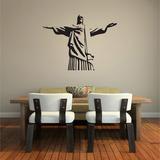 6597320f52b Adesivo De Parede Decorativo Cristo Redentor Rio De Janeiro no ...