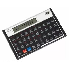 512745fc07f Calculadora Financeira Hp 12c Platinum Original Lacrada
