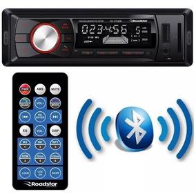 Rádio Fm P/ Carro Roadstar Automotivo Bluetooth Usb Mp3