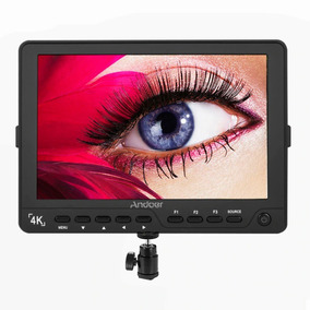Monitor 4k Lcd Para Dslr Com False Color E Color Peaking