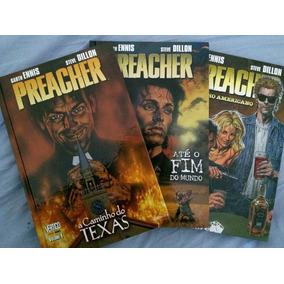 Preacher Vol 1,2 E 3 Garth Ennis Hqs