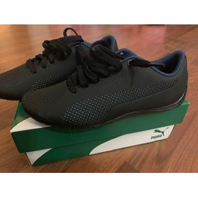 00ea2f7ce508 Puma Mens Drift Cat 5 Ultra Walking Shoes Black sargasso Sea
