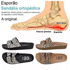 2 Pares Chinelo Sandália Plantar Esporão Calcâneo Ortopédica