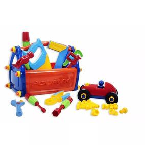Caixa Maleta De Ferramentas Brinquedo Infantil Didático