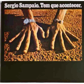 Lp Sérgio Sampaio Tem Que Acontecer - Novo.