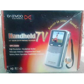 Tv Portátil Lcd 2.5 Daewoo Dpt-2500pm - Nova