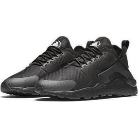 new product c2f48 85381 Zapatillas Nike Air Huarache Run Ultra Todo Negro Nuevo 2018