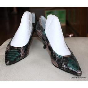 Interior Zapatos Cuero Retro Reina 24cm Vintage 36 qf4Hq