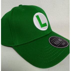 Mario Bros Gorra Luigi Gamers Nintendo Original Envio Gratis 895096e19d5