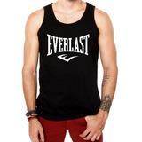 Camiseta Regata Everlast Masculina Branca E Preta Camisa 19cf39cc3de4f