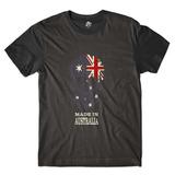 68f88413c4 Camisa Camiseta Caveira País Austrália Skull Rock Blusa Full