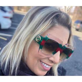 2a381c0523147 Óculos Gucci Transparente - Óculos no Mercado Livre Brasil
