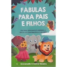 Livro Fábulas Para Pais E Filhos - 5 Exemplares