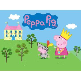 Hiper Painel Decoração De Festa 2 X 1,80 Peppa Pigss