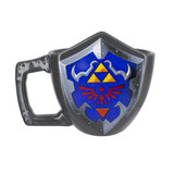 Taza Hylian Shield The Legend Of Zelda + Figuras Wind Waker