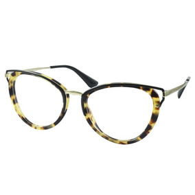 c61e480702592 Prada Vpr14q Marrom tartaruga Dho 1o1 - Óculos no Mercado Livre Brasil