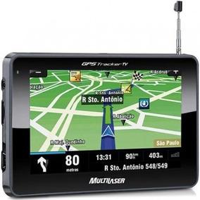 Gp012 Gp034 - Gps Tracker Tela 4,3 Com Tv E Fm Multilaser