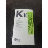 Smartphone Lg K10 Novo 32 Gb Memória Dourado