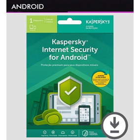 Kaspersky Internet Security Android 1 Dispositivo 1 Ano