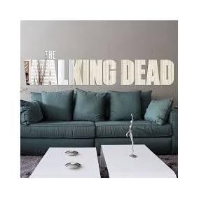 Espelho Decorativo The Walkimg Dead 100x22 Cm