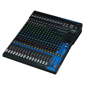Mesa Yamaha Mg20xu Na Cheiro De Música Loja Autorizada !!