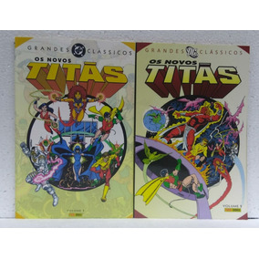 Grandes Clássicos Dc Os Novos Titãs Volume 1 E 2 Panini
