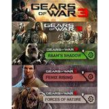Seasson Pass Gears Of War 3 Dlc Skins, Pesonajes, Mapas