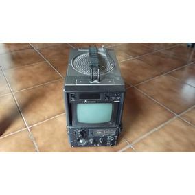 Tv Portátil Com Rádio Integrado. Sucata Eletrônica. Antiga.