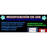 Flasheo 3ds 2ds New Xl Todas Versiones 11.9, ¡juegos Gratis!