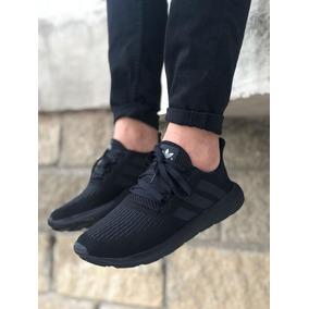 86dda4cded7b6 Zapatos Deportivos adidas Swif Run Caballero Unisex Negro